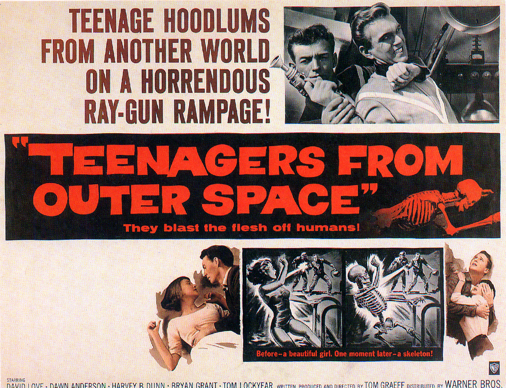 #BMovieManiacs Event: Teenagers From Outer Space