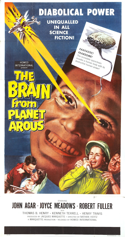 #BMovieManiacs Event: The Brain From Planet Arous