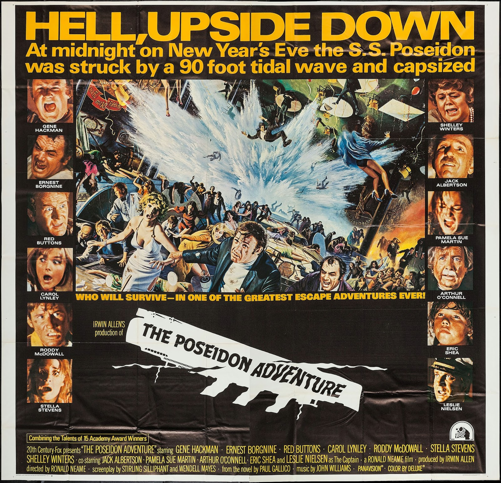 #BMovieManiacs New Year's Eve Event: The Poseidon Adventure (1972)