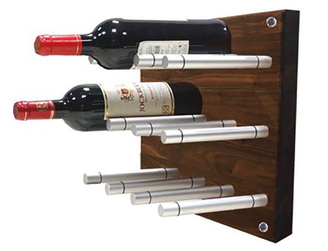 064 9225 support mural bouteille de vin