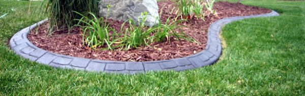 curb appeal concrete edging