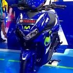 Penampakan Yamaha Aerox 125 Livery Movistar Di PRJ Kemayoran, Keren Juga Sob!