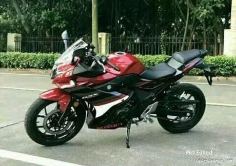 Suzuki GSX250R Merah
