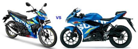 perbedaan-Suzuki-Satria-F150-injeksi-dan-GSX-R/S-150