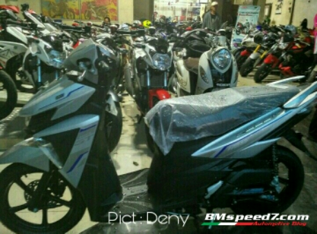 Tampak samping All New Yamaha Mio Soul GT125 SSS AKS 2017