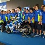 Launching Team Baru Suzuki Ecstar Dan GSX-RR MotoGP 2017 Di Sepang