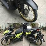 Modifikasi Yamaha Aerox 155 Pakai Ban Cacing Bikin Greget Bro!
