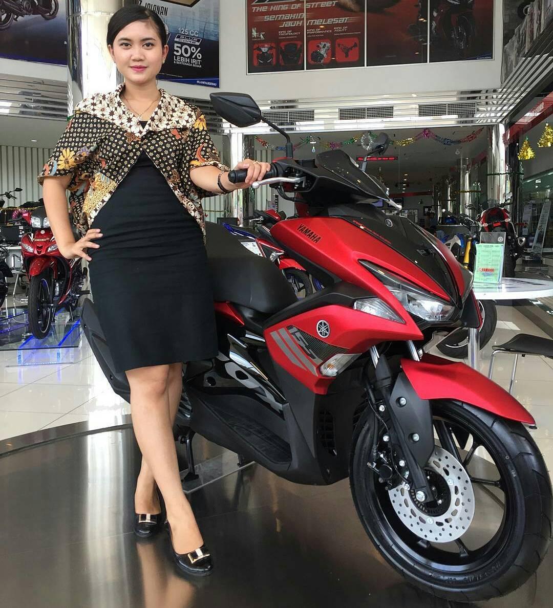 Yamaha-Aerox-155-VVA-Red-Matte-BMspeed7.Com_