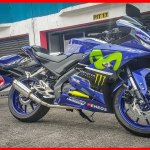 All New Yamaha R15 2017 Livery Movistar, Versi Special Edition?