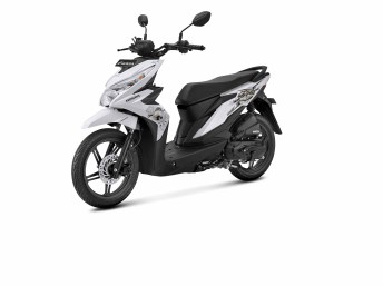 New Honda BeAT Street Putih