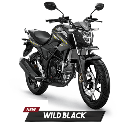 All New Honda CB150R 2018 Wild Black (Hitam Kuning)