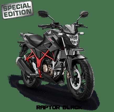 All New Honda CB150R Terbaru 2017 warna Raptor Black