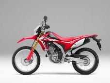 2017 Honda CRF250L Red Side