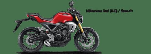 Honda CB150R Exmotion 2017 Red/Merah