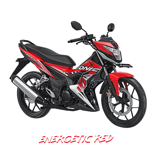 Honda Sonic 150R 2018 Merah Metalik/Energetic Red