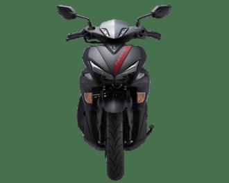 Yamaha-Aerox-155-2018-Matte-Black-Depan