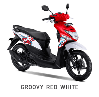 Warna Baru Honda BeAT Pop 2018 Merah-Putih