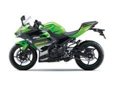 Ninja 250 Fi 2018 Hijau KRT Replika Tampak Samping Kiri
