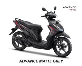 Gambar Vario 110 Advance Matte Grey By AHM