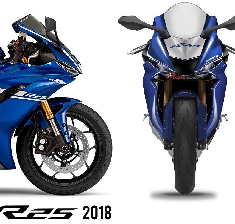 Renderan All New Yamaha R25 Terbaru 2018 By Motoblast Keren Parah