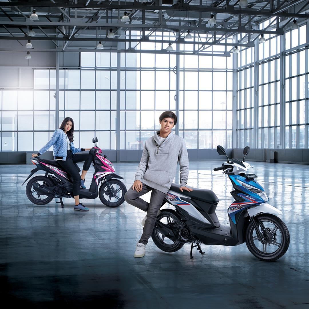 Foto 8 Pilihan Warna Honda BeAT 2018 Terbaru Tipe CW CBS Dan CBS