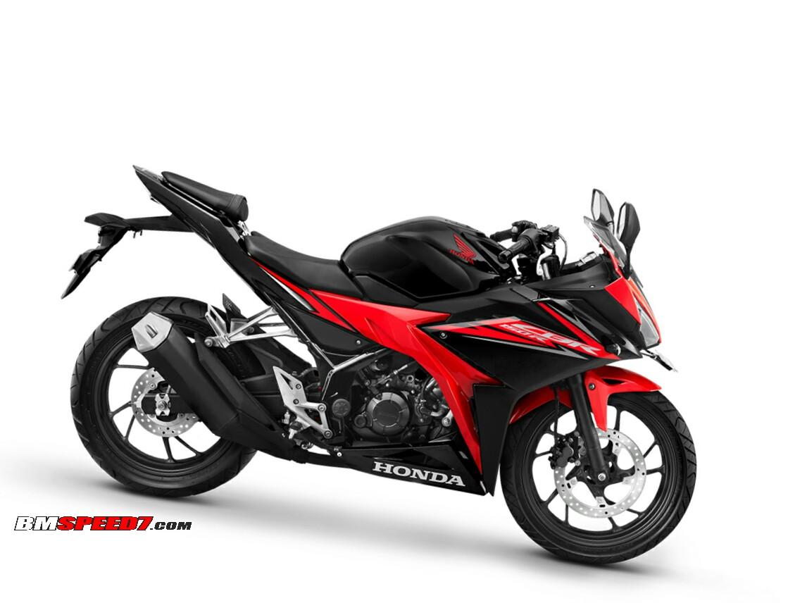 Honda cbr150r 2018 warna baru honda cbr150r 2018 victory black