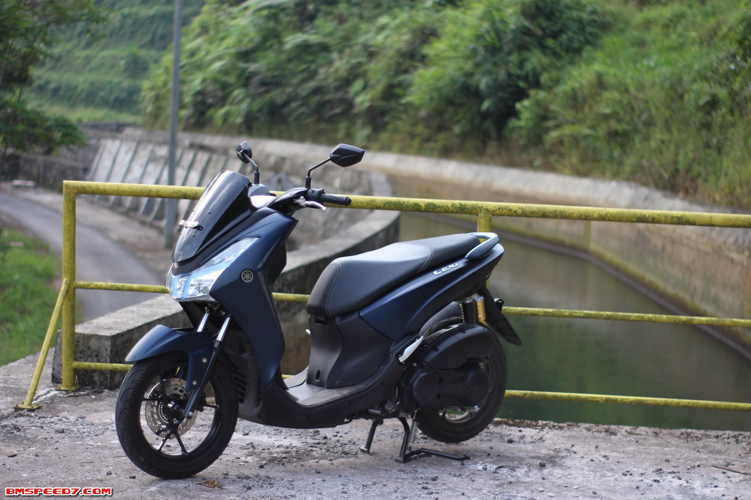 Yamaha Lexi S 125 2018 Matte Blue