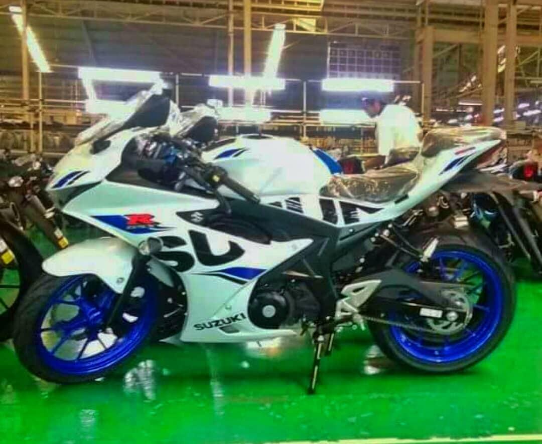 GSX-R150 White Blue