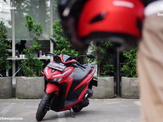 Honda Vario 150 Merah
