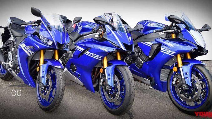 Render Yamaha R25 2019