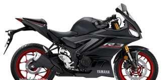 2019 Yamaha R3 Black