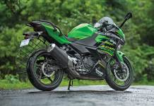 Crash Guard Ninja 400