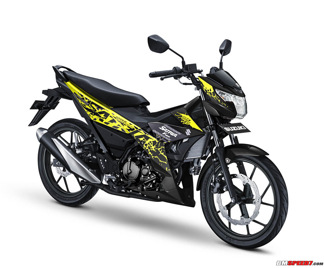 6 Pilihan Warna Suzuki Satria Fu Terbaru 2018 Harga Rp 22 Jutaan