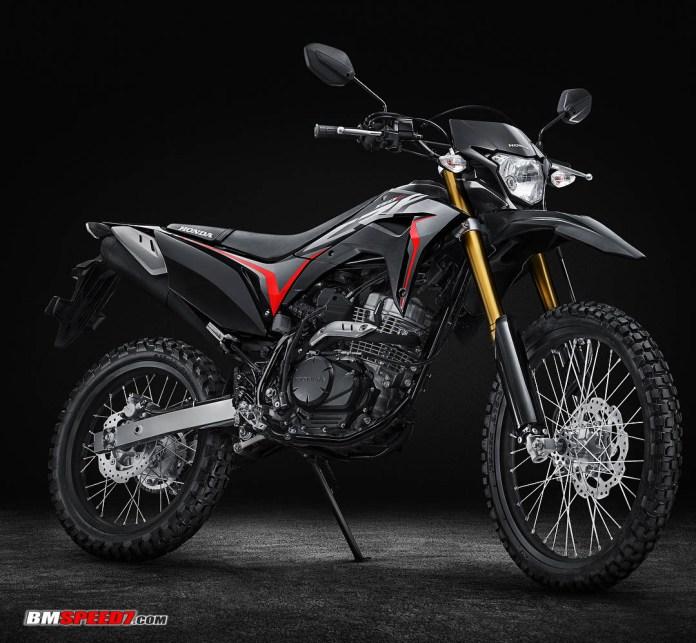Honda CRF150L Hitam