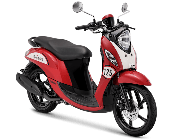 Yamaha Fino Sporty Red