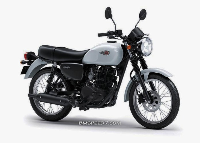 Kawasaki W175 White