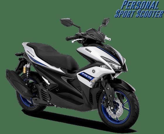 Yamaha Aerox 2019 Matte Blue