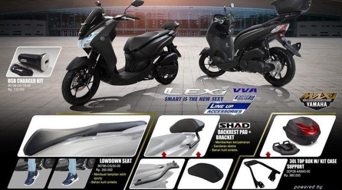Aksesoris Resmi Yamaha Lexi