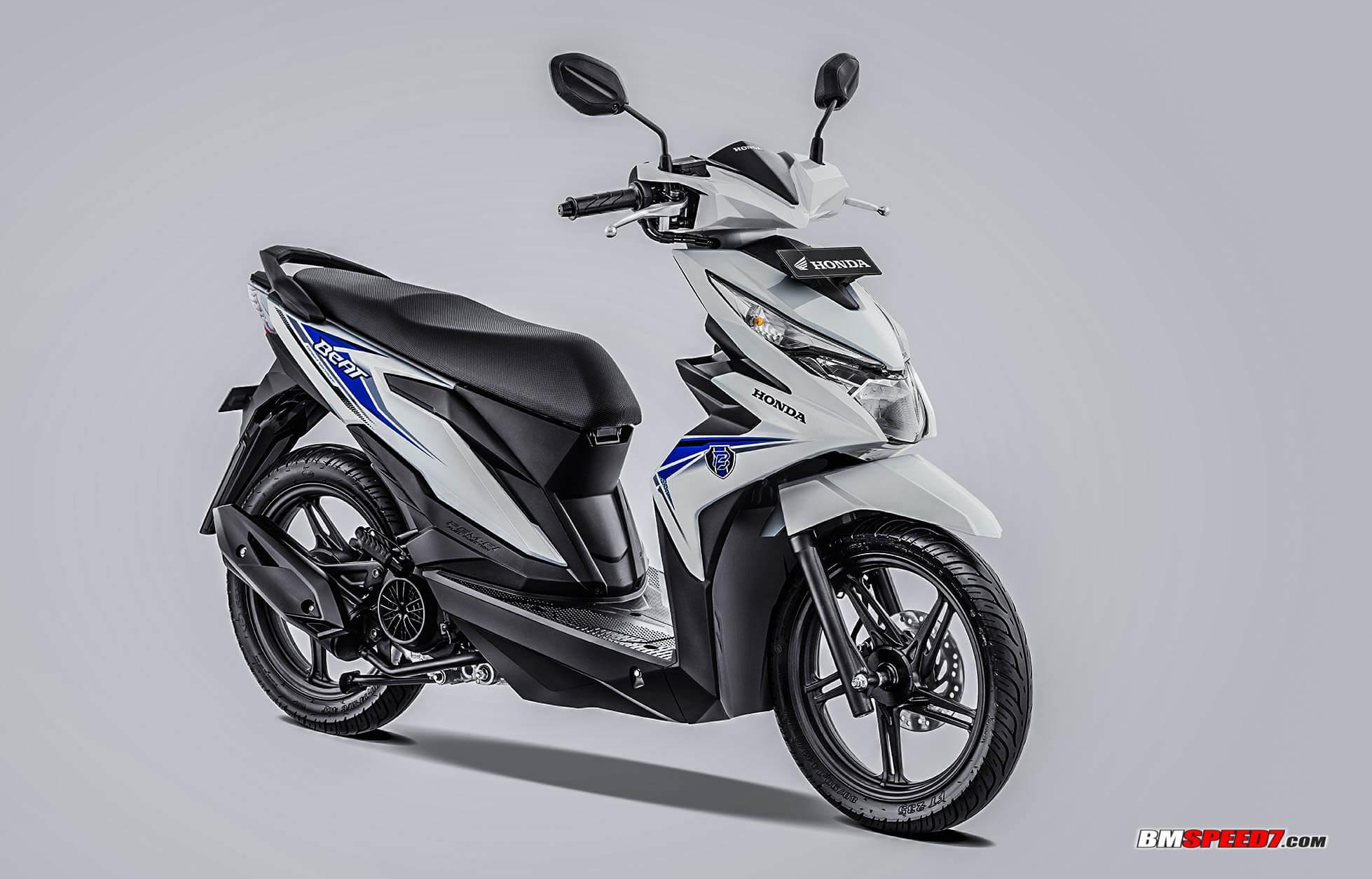 Honda BeAT 2019 CW Warna Putih