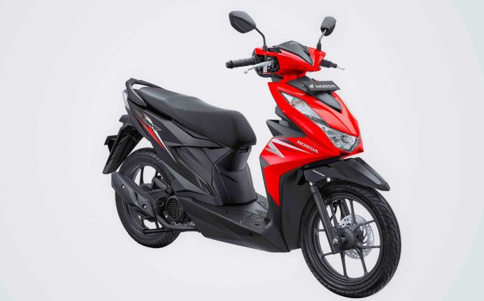 Warna Honda BeAT 2020 Merah