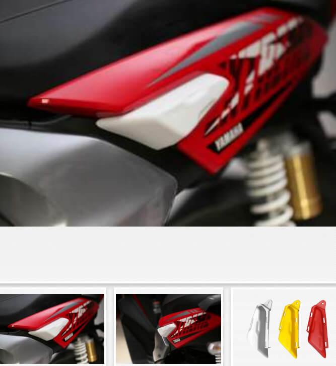 Harga Aksesoris Yamaha X-Ride 125
