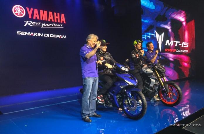 Launching Yamaha MT-15 dan MX King