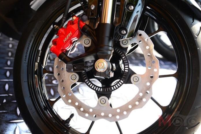Honda CB150R StreetSter Brake Radial