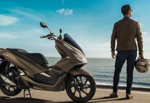 Honda PCX Matte Brown