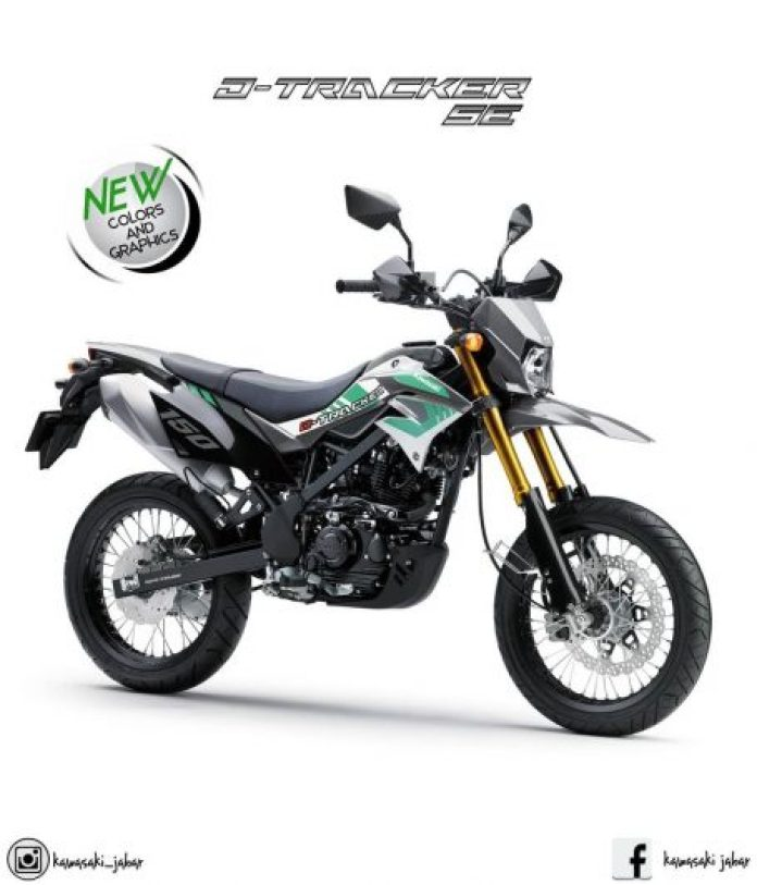 Kawasaki D-Tracker SE 2019 Gray White