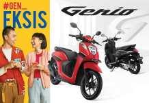 Perbedaan Honda Genio tipe CBS dan CBS-ISS