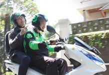 Driver Gojek Pakai Honda PCX Electric