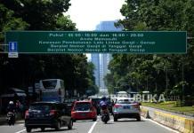 Ruas Jalan Ganjil Genap Jakarta