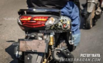 Spyshots Yamaha Nmax 155