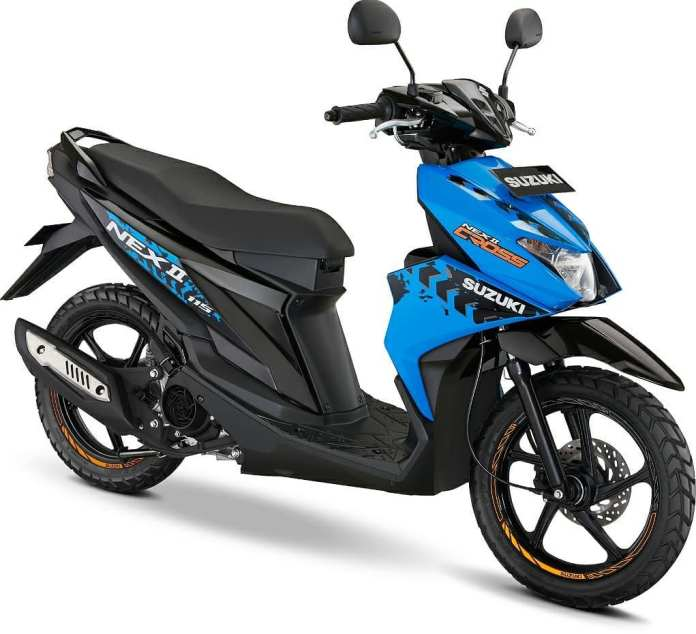 Suzuki Nex II Accessories Version Biru
